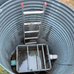 Monitoring well at Iowa Southeast Research Farm