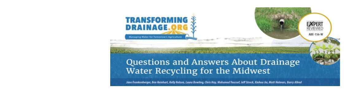 Questions and Answers about Drainage Water Recycling in the Midwest