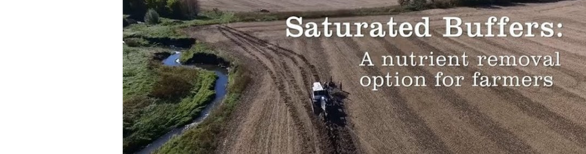 Saturated Buffers: A nutrient removal option for farmers