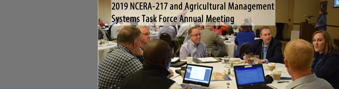 2019 NCERA-217 and ADMS Annual Meeting