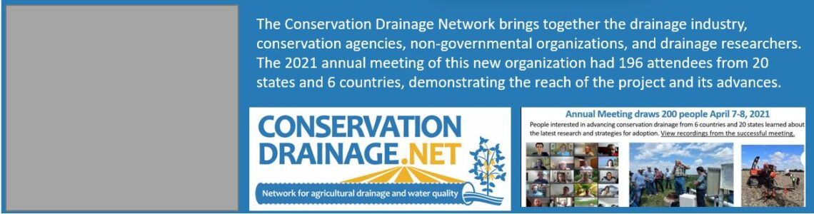 Conservation Drainage Network