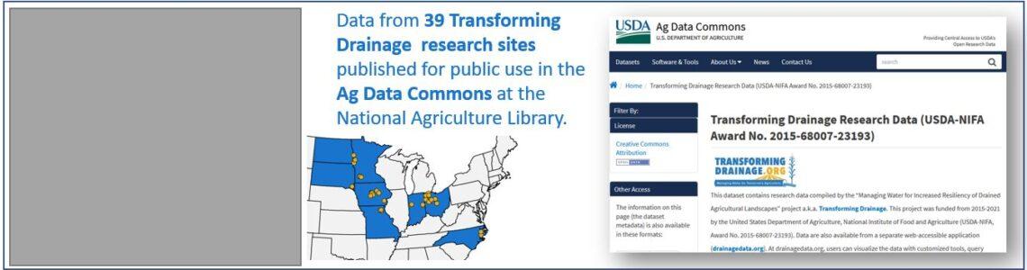 Transforming Drainage Database